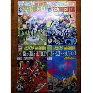 Silver Surfer & Warlock Resurrection #1 - 4