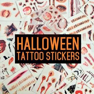 Halloween Tattoo Sticker