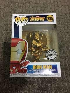 Funko Pop Avengers Infinity War Chrome Ironman Iron man