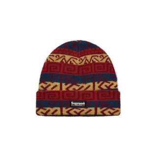 SUPREME Brushed Pattern Beanie 冷帽