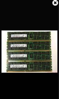 🚚 三星 HCC 8G *2 1600記憶體 伺服器用