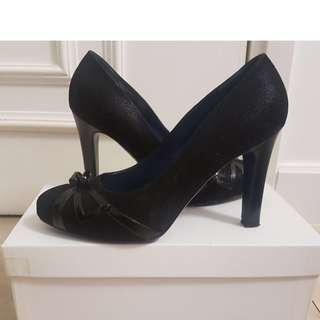 Antiprima - High heel with small platform (black)