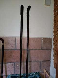 Tongkat Kayu Dewadaru. ( Cobra )