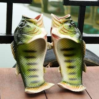 [NEW ] [PO] PROMOTION FOR MONTH OF NOV!!  !!! CUTE FISH SLIPPERS FOR KIDS AND ADULT
