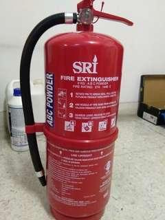 Sri Fire Extinguisher ABC Powder 9kg
