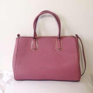 Mauve pink bag