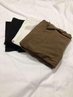 🇰🇷寬領基本九分袖上衣(三色各一)
