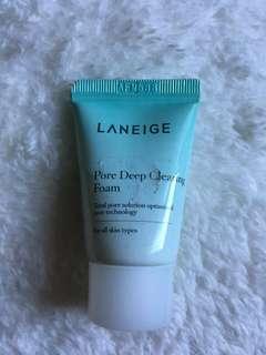 Laneige Pore Deep Cleaning Foam