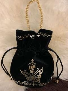 Anna Sui 金鏈手提索繩袋