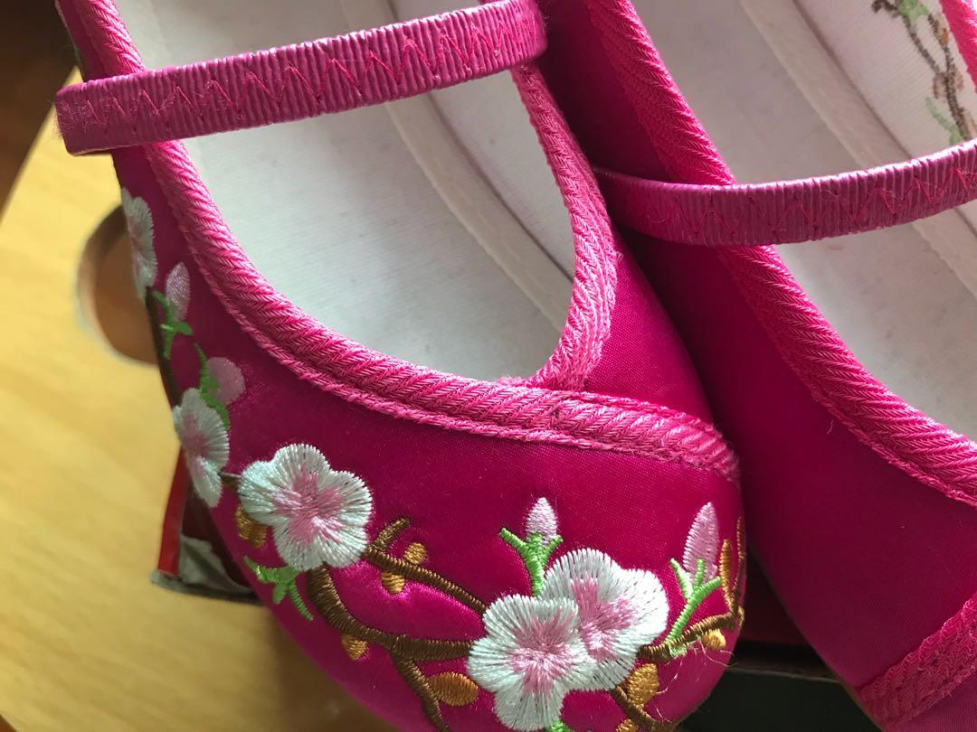 女童工藝綉花鞋(28碼)長17cm