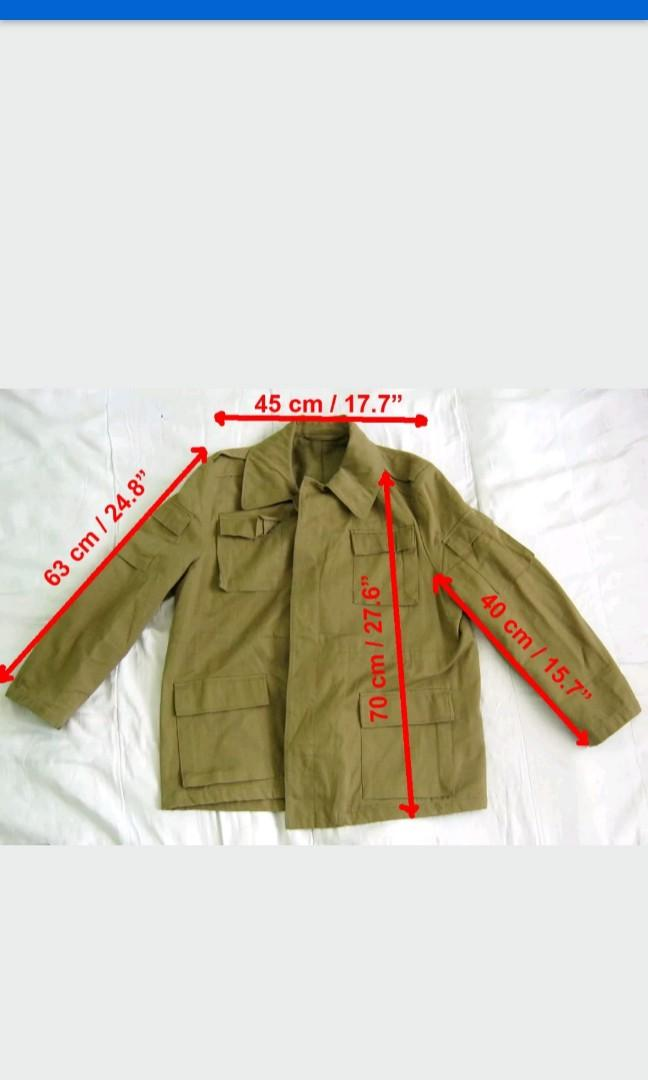古着 1985 蘇聯 冬季Afghanka外套(無內裡)