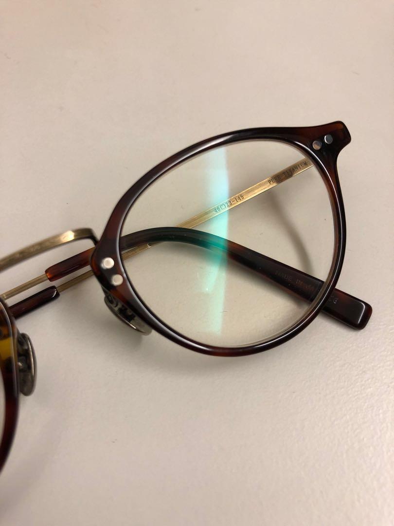金子眼鏡 KV01 RDDE 二手 復古 Vintage