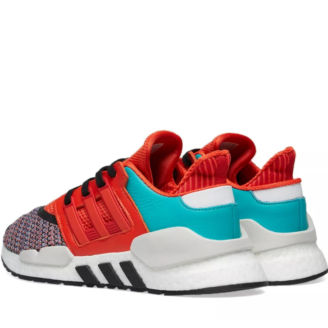 cheap for discount 7ef17 d8cfd ADIDAS ENERGY EQT SUPPORT 91 18 BOLD ORANGE, WHITE   BLACK, Men s Fashion,  Footwear, Sneakers on Carousell