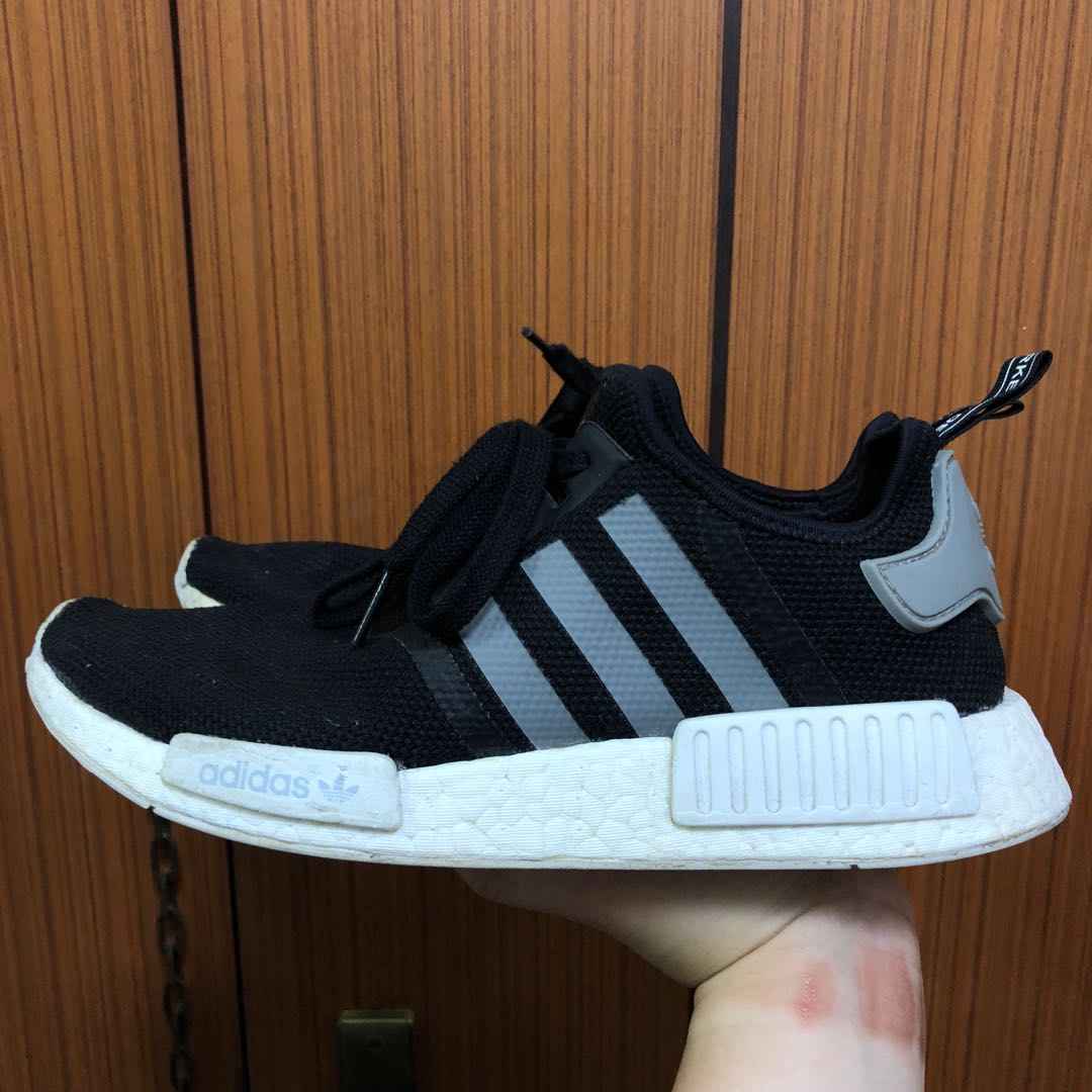 ffdf5054f Adidas NMD R1 Core Black Grey (US 8)