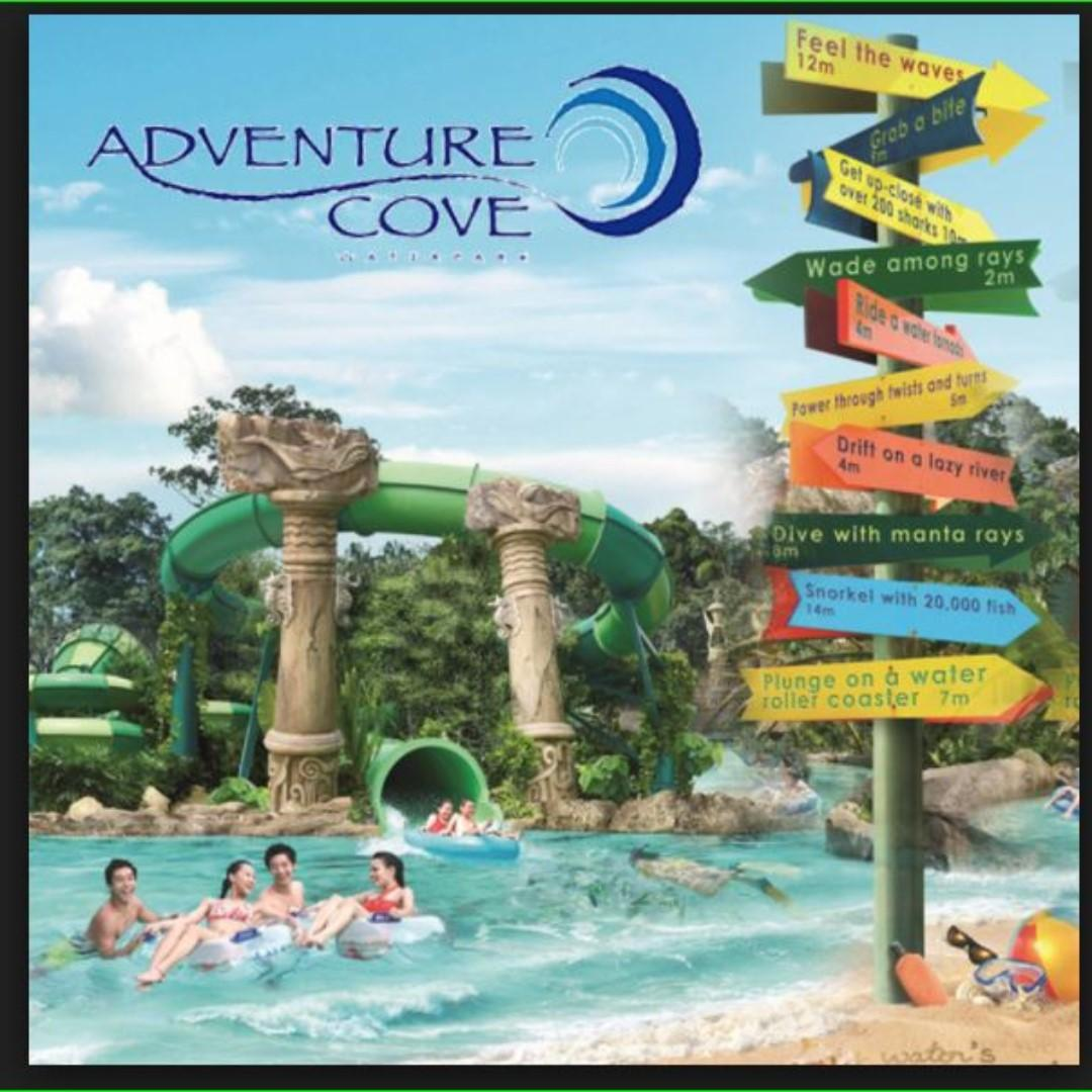 Adventure Cove Waterpark tickets, Everything Else on Carousell