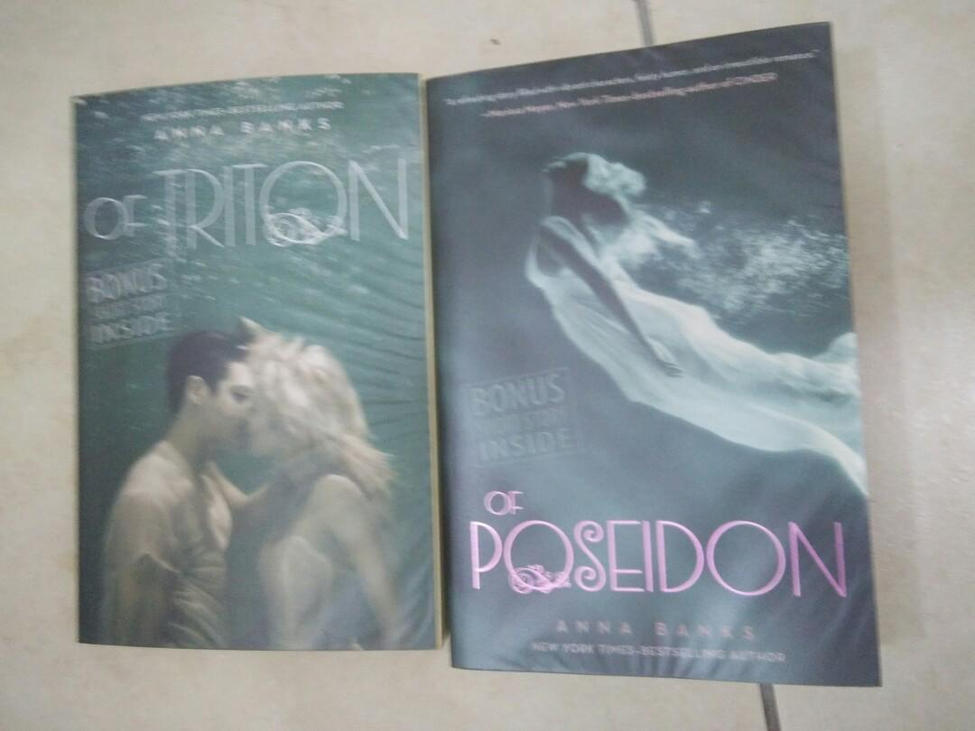 Anna Banks Poseidon & Triton