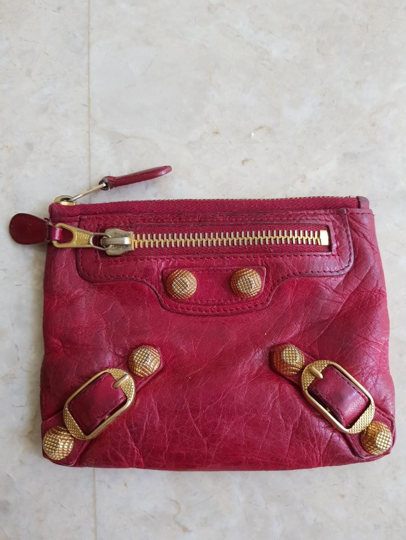 666a8a26c5bf Balenciaga coin   cosmetic pouch