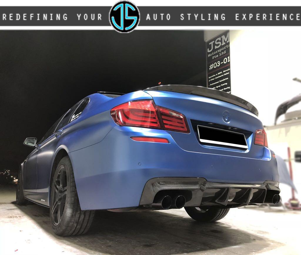 Bmw F10 5 Series M5 Performance Carbon Fibre Trunk Spoiler