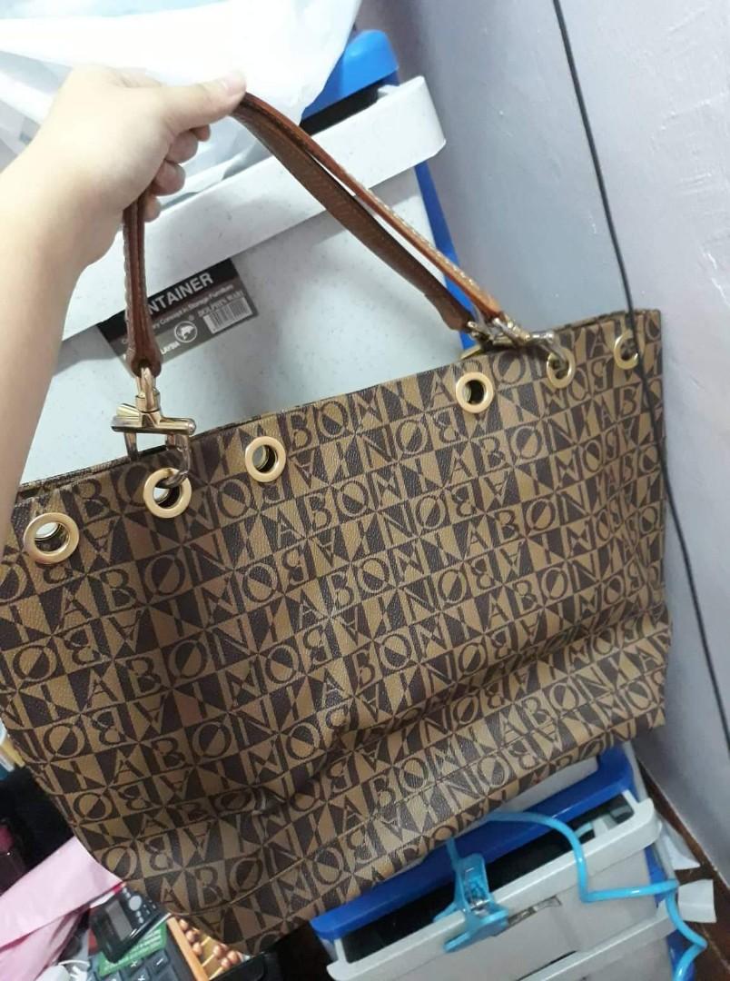 79370b9653 Bonia tote bag 100% authentic, Women's Fashion, Bags & Wallets ...