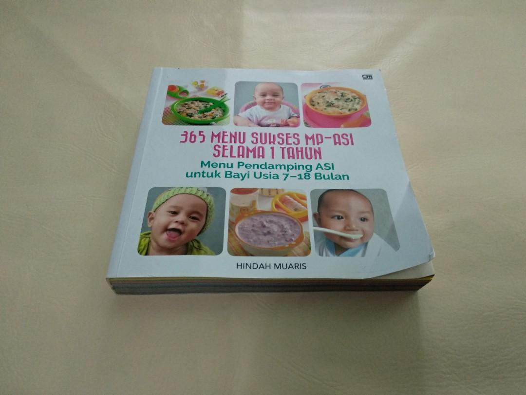Buku 365 Menu Sukses MPASI selama 1 tahun