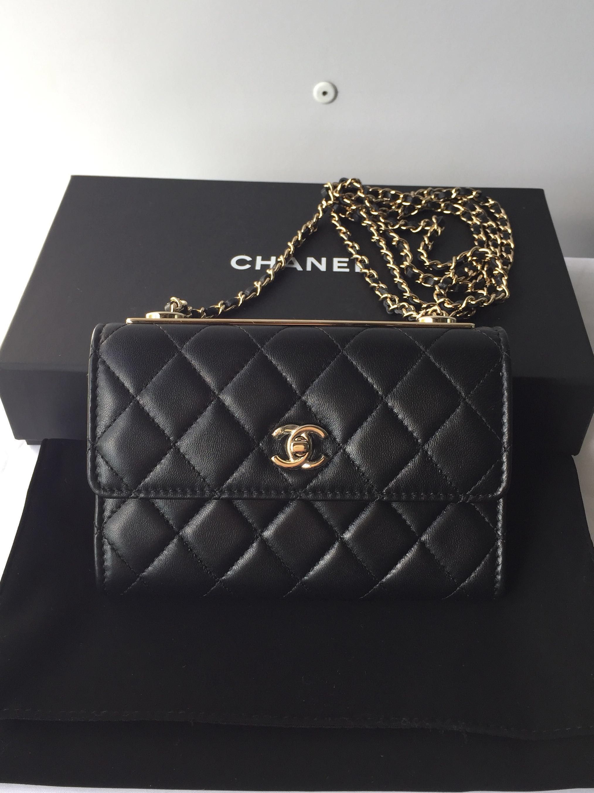 ba6bd66e96f4 Chanel Trendy CC Clutch with Chain (new)