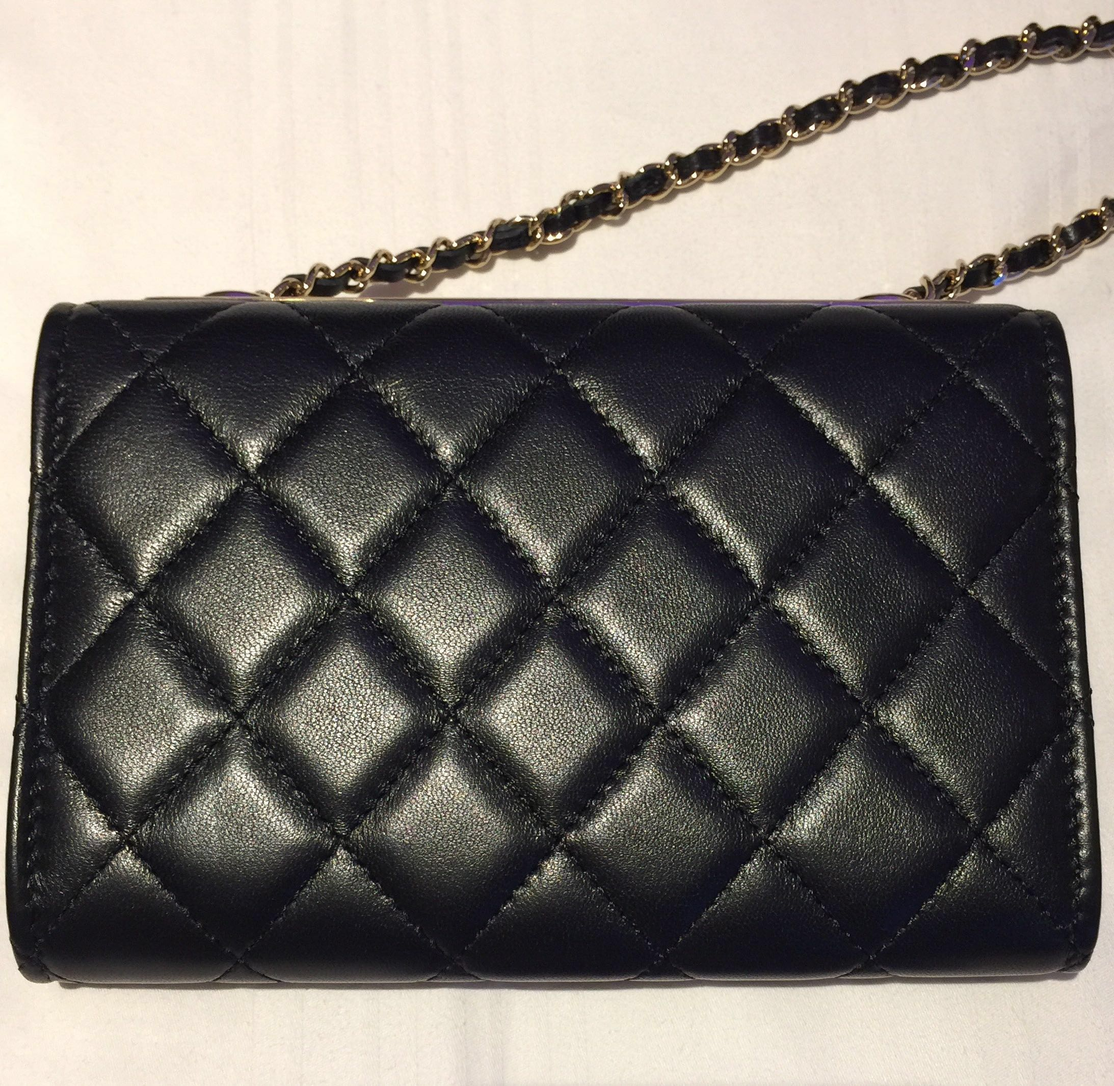 4aa8aa4f0f40 Chanel Trendy CC Clutch with Chain (new)