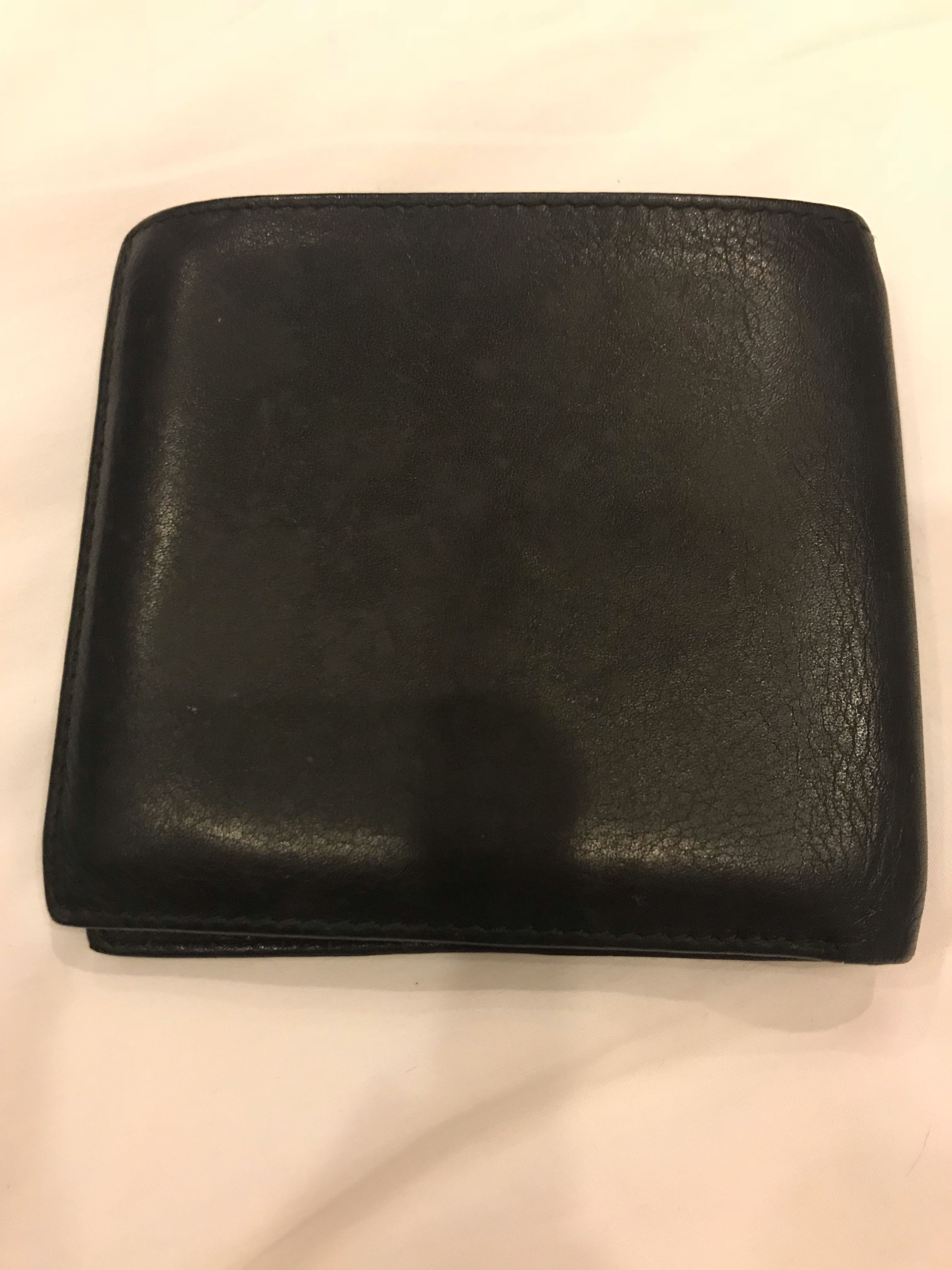 8c75ef690c Christian Dior leather wallet, Men's Fashion, Bags & Wallets ...