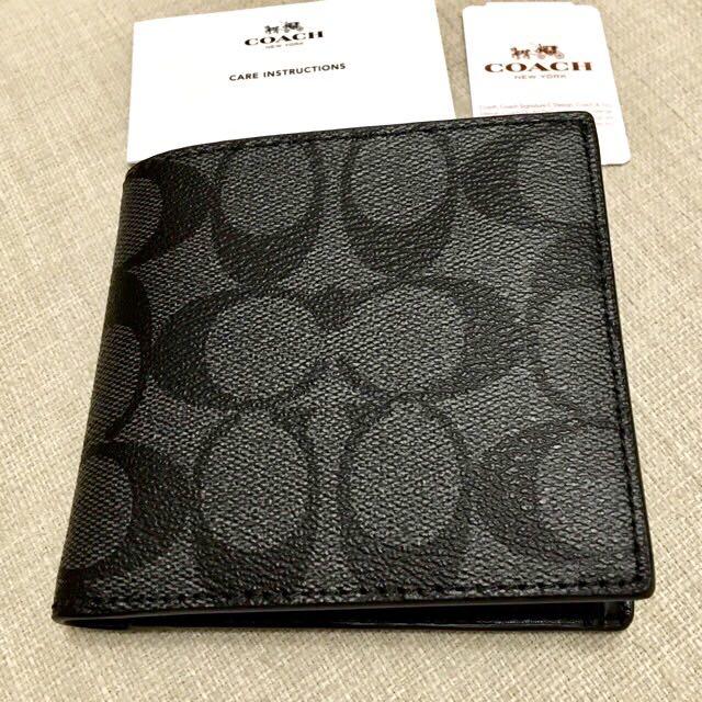 d8aae2bdbb272 ✨Coach Mens Wallet New Authentic BNWT