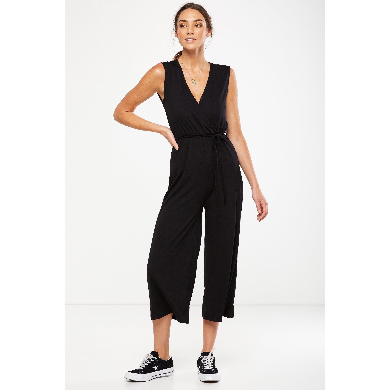 0ea61f9cb1a Cotton on black jumpsuit
