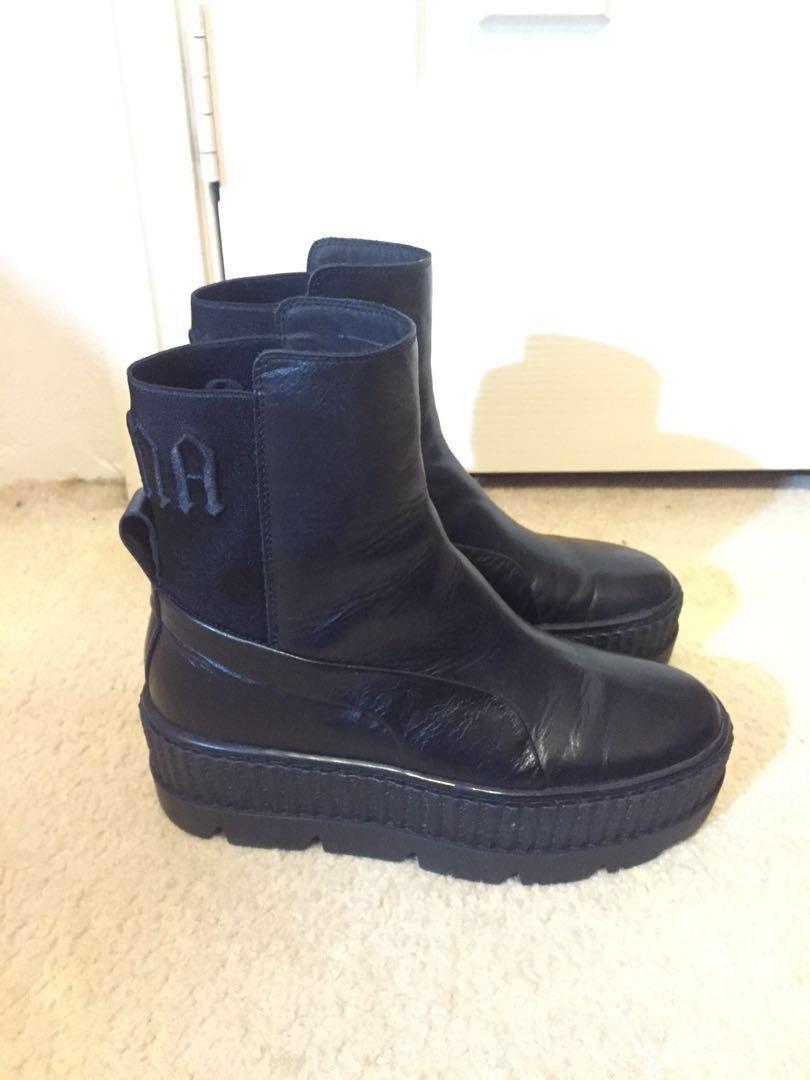 Fenty Puma Chelsea Sneaker Boots