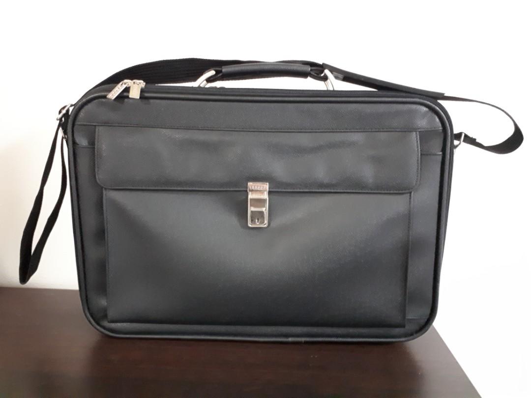 25323a821 Ferre Document/ Laptop bag, Men's Fashion, Bags & Wallets ...