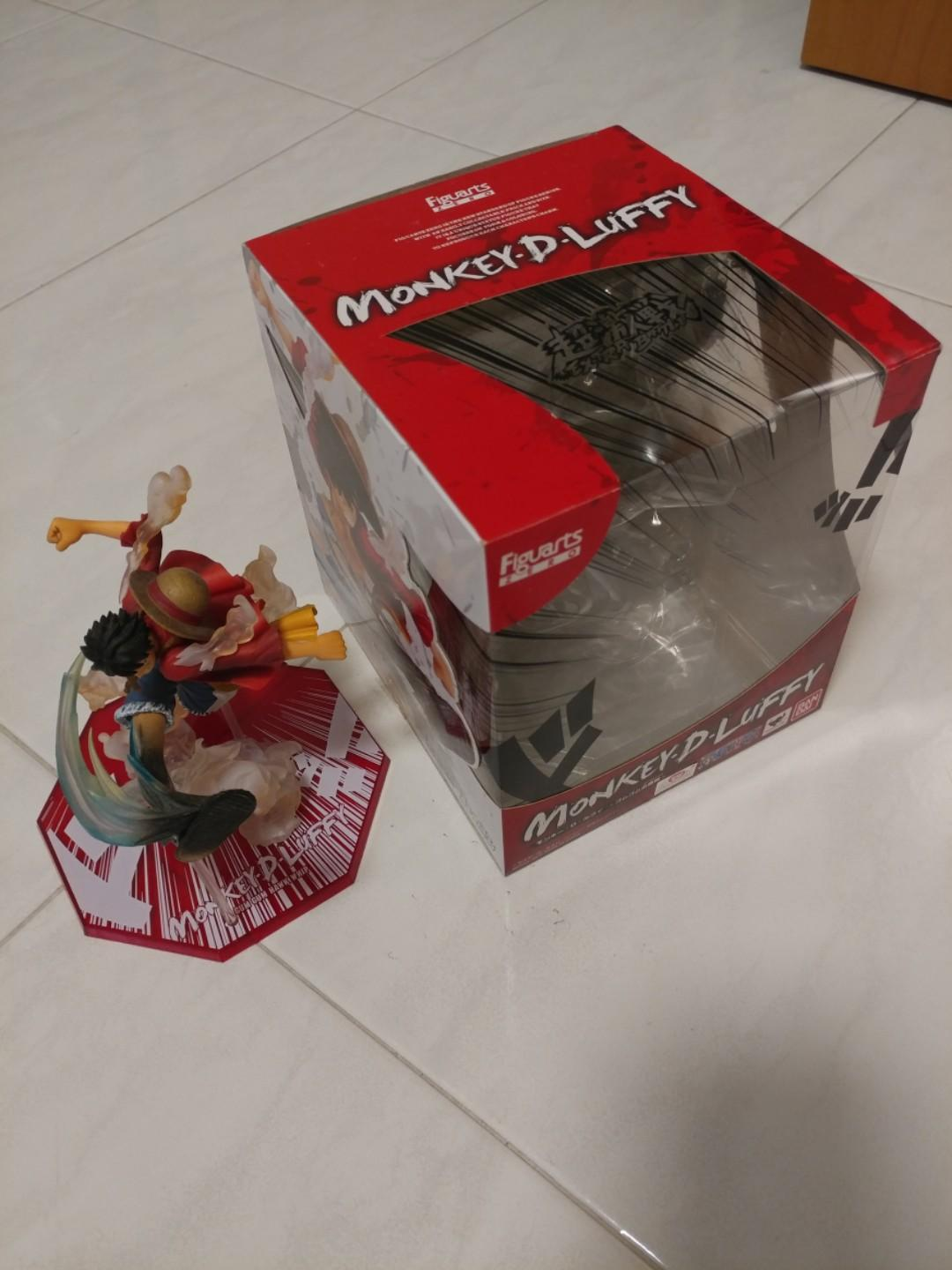 Figuarts Zero Monkey D Luffy Gum Gum Hawk Whip Toys Games