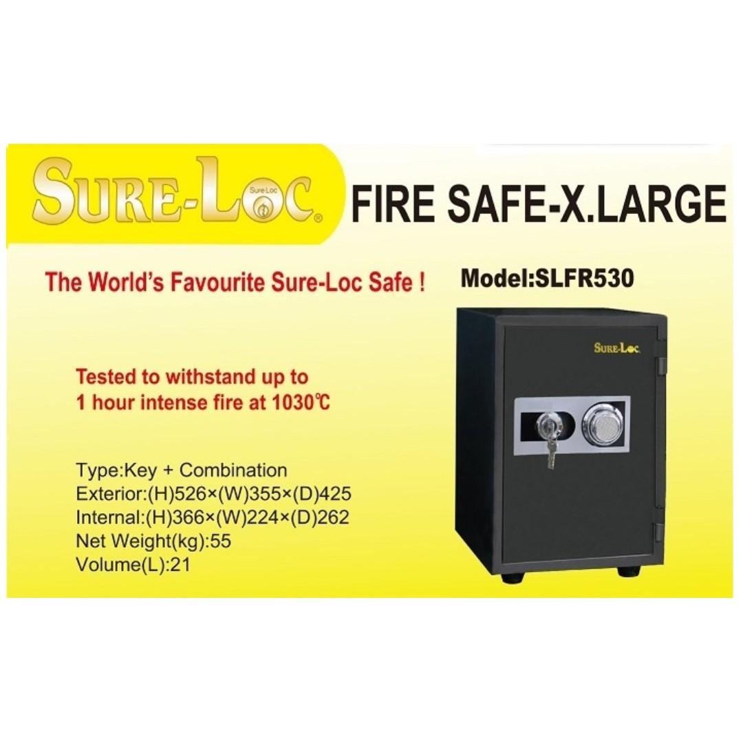 Fire Proof Safe on Offer @ Selffix DIY Outlets! Brand NEW!