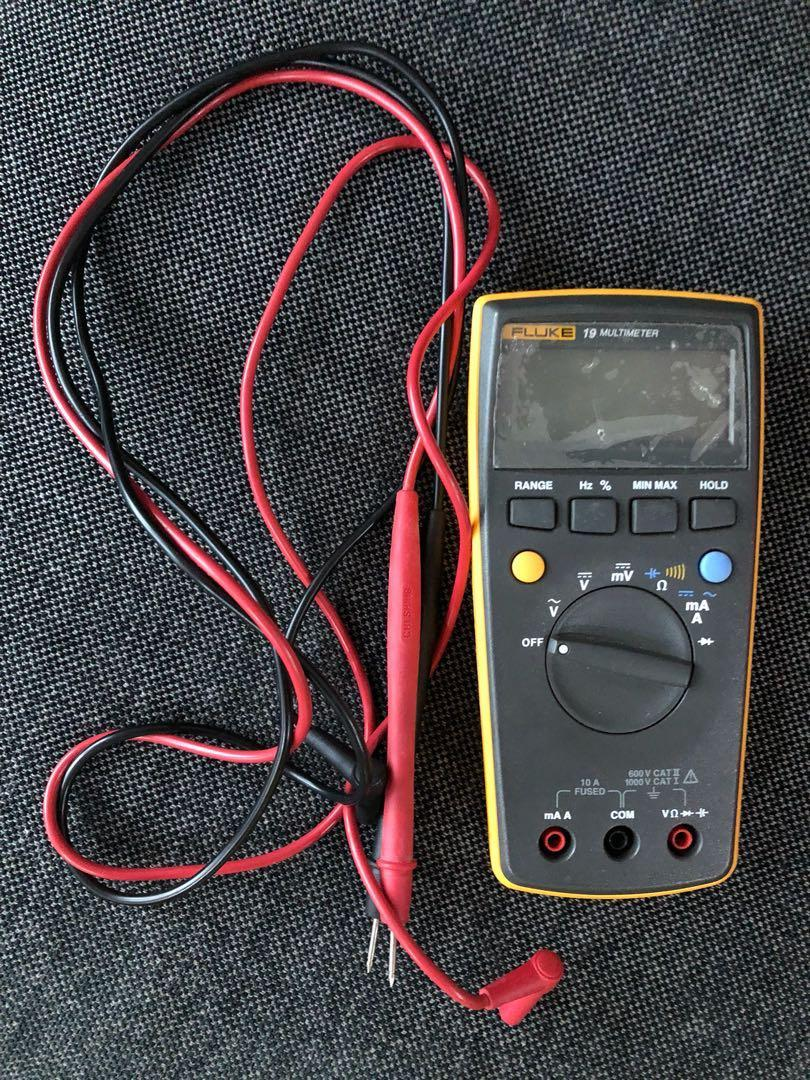 Fluke 19 Digital Multimeter, Electronics, Others on Carousell