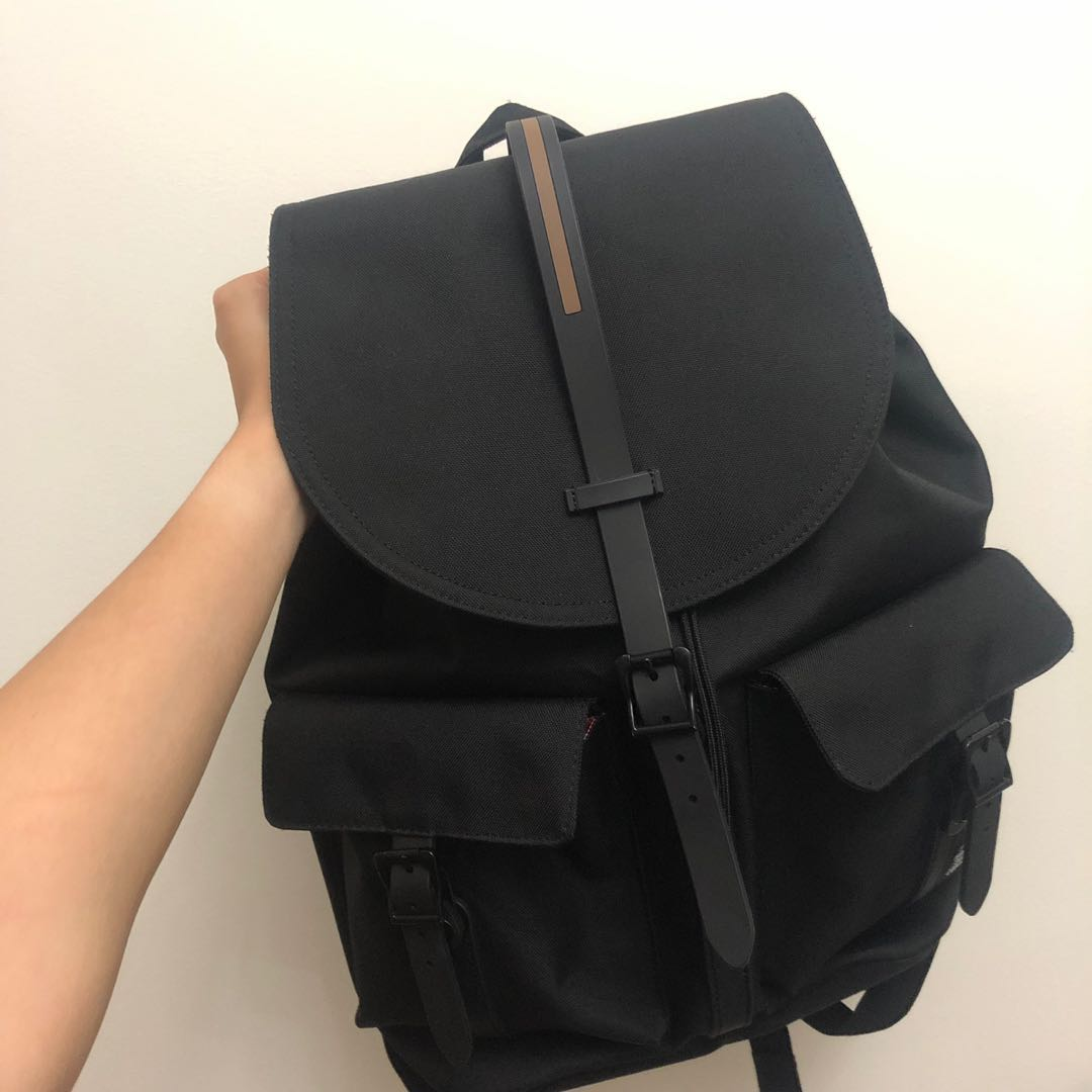 e09e9f2d73e Herschel Dawson 20.5L Black Backpack