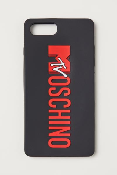 buy online 77af9 e0fed H&m Moschino iphone case