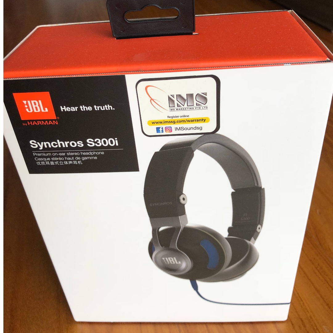 99977468cbf JBL Synchros S300i Premium On-Ear Headphones [BRAND NEW SEALED IN ...