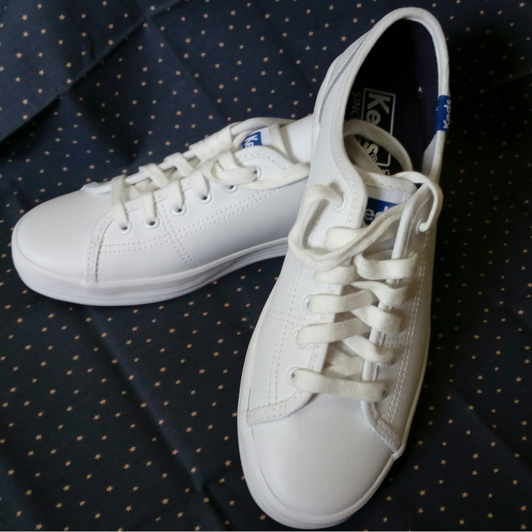 085e02fec465 Keds women s kickstart leather shoe (white)