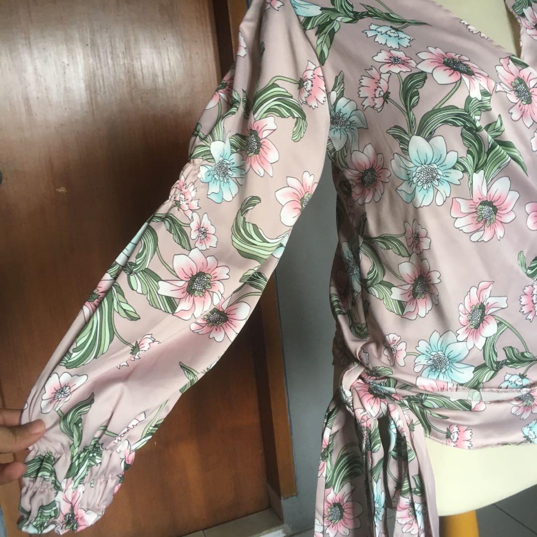 Kimono roses mayoutfit