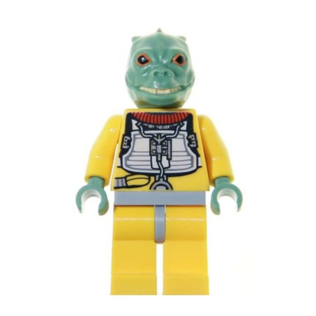 Lego Bossk Sand Green Star Wars Episode 4 5 6 8097 Sw280
