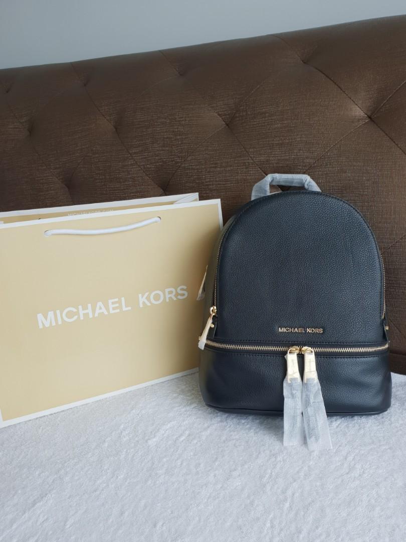 237a7ca11b5502 Michael Kors SM Rhea Backpack, Luxury, Bags & Wallets, Backpacks on ...