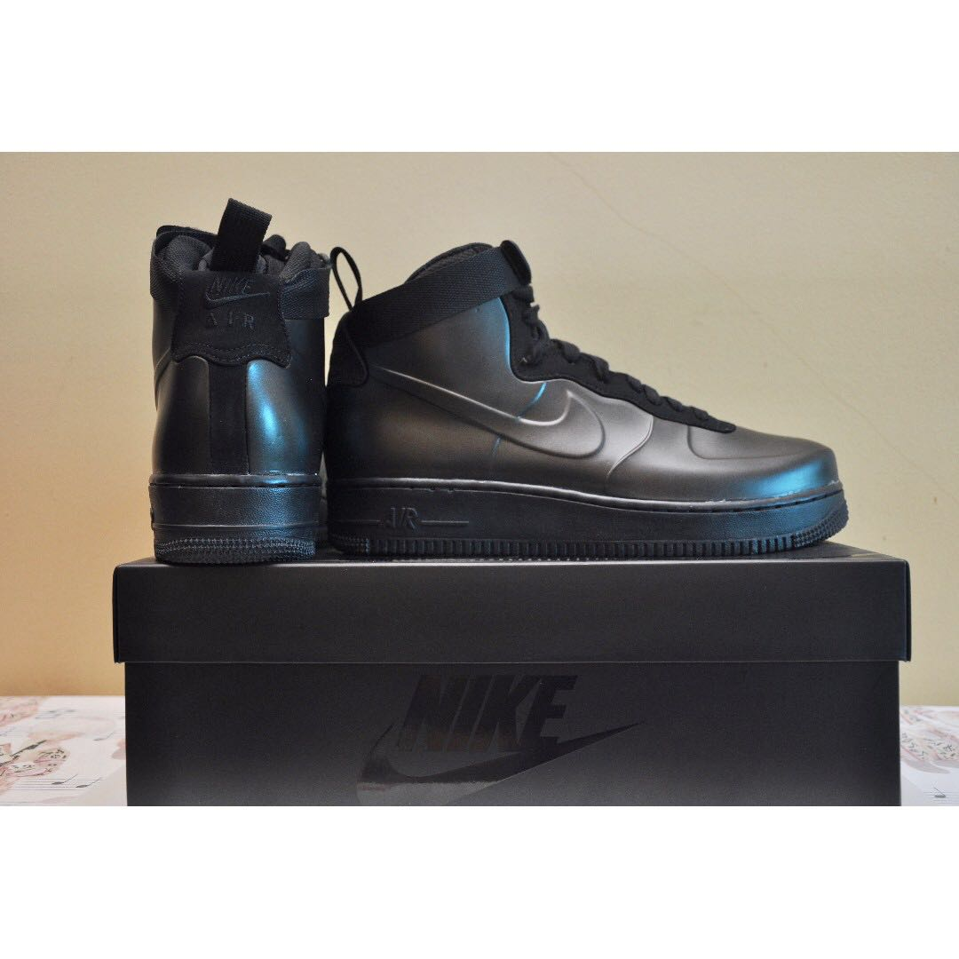 424c1b03b4cb0 NEW Nike Air Force 1 Foamposite Cup Mens AH6771-001 (Triple Black ...