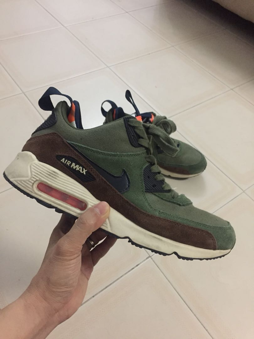 the latest 7e797 182db Nike Air Max 90 SneakerBoot, Legion green, Men s Fashion, Footwear,  Sneakers on Carousell
