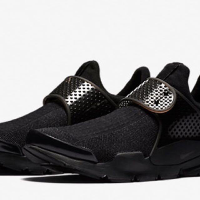 sneakers for cheap 82749 049b8 Nike Sock Dart triple black