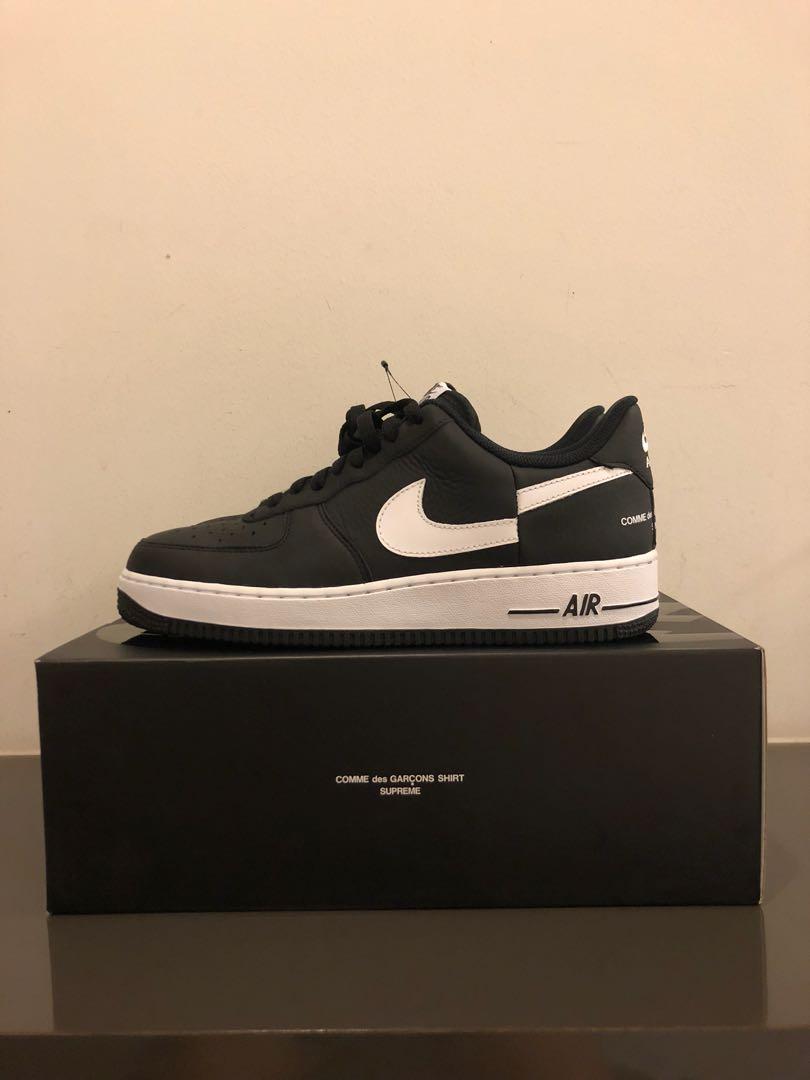 pretty nice 15fe9 6d1e1 Nike x supreme x CDG Air Force 1