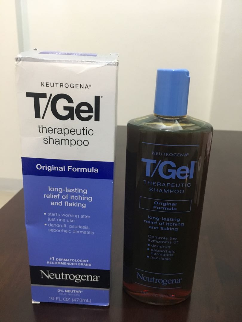 Birthday Month Promo!!!Nuetrogena T/Gel Shampoo 473ML from