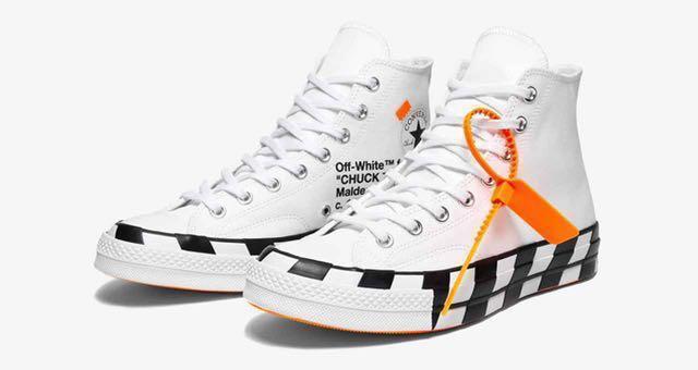 3c207c3ec9a7 Off White X Converse Chuck 70