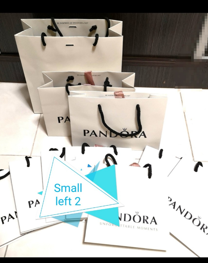 4cc366e5f4 Pandora Gift bag(genuine), Luxury, Bags & Wallets, Others on Carousell