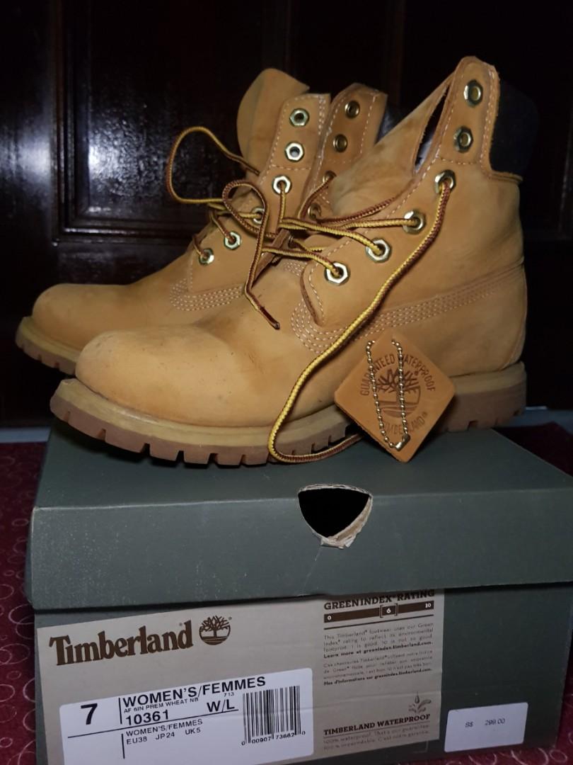e943adb826f03 Preloved Timberland Icon Premium 6 inch boots, Women's Fashion ...