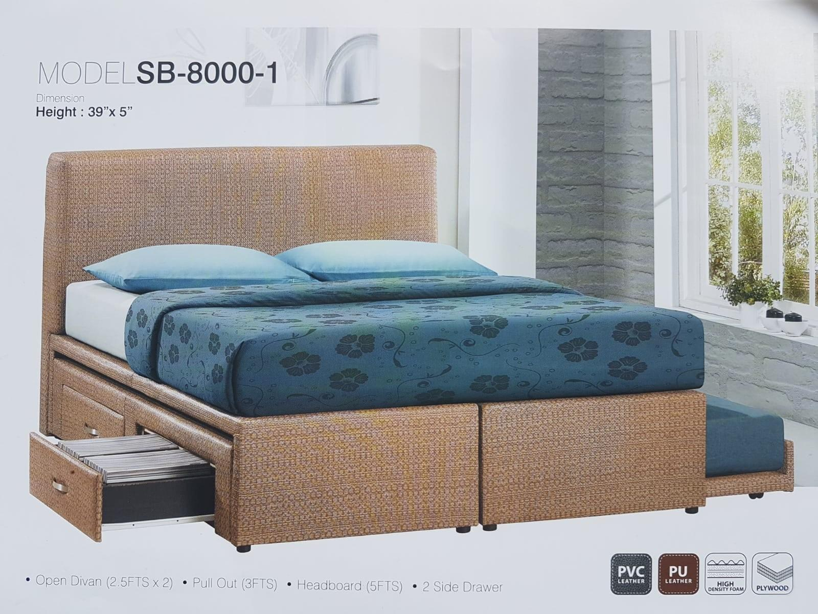 Picture of: Pull Out Bed With Drawers Furniture Beds Mattresses On Carousell